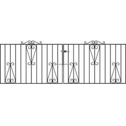 Metal Driveway Gate - Short - 22