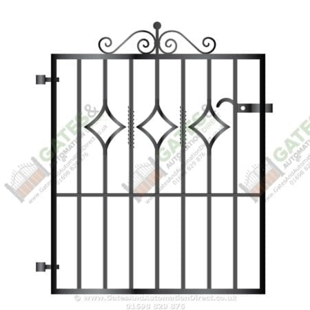 Metal Path Garden Gate 006
