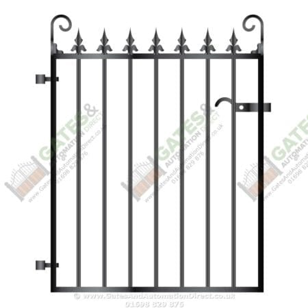 Metal Path Garden Gate 007