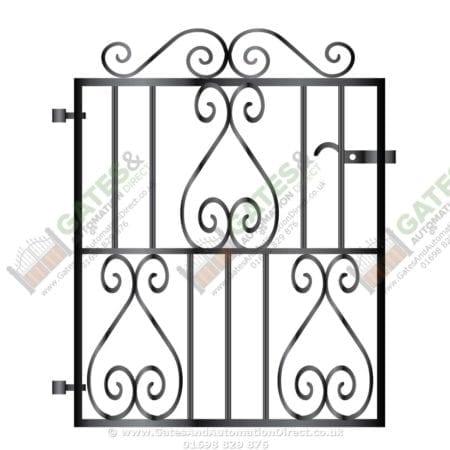 Metal Path Garden Gate 008