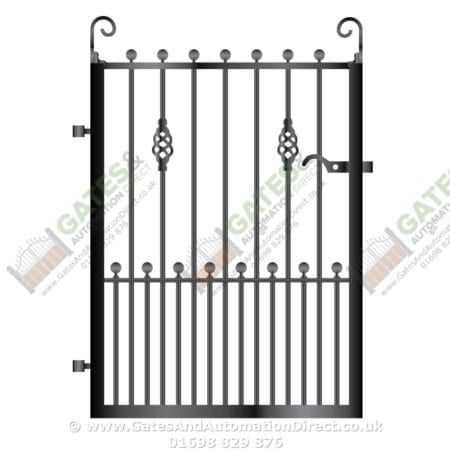 Metal Path Garden Gate 032
