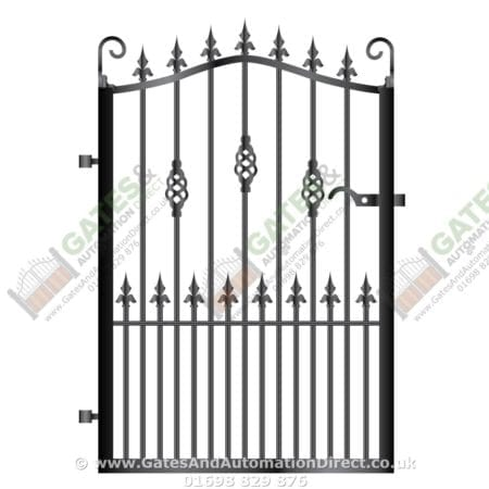 Metal Path Garden Gate 033