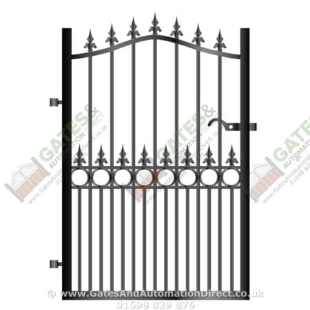 Metal Path Garden Gate 039