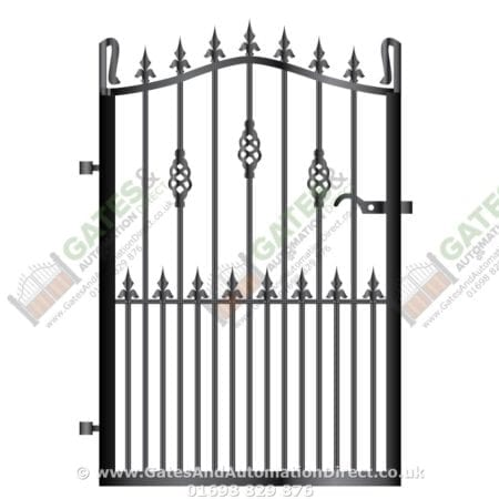 Metal Path Garden Gate 040