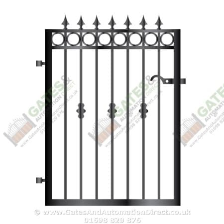 Metal Path Garden Gate 041