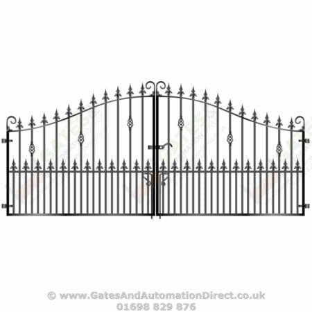 Short Metal Driveway Gates 003