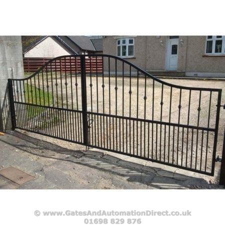 Short Metal Driveway Gates 008