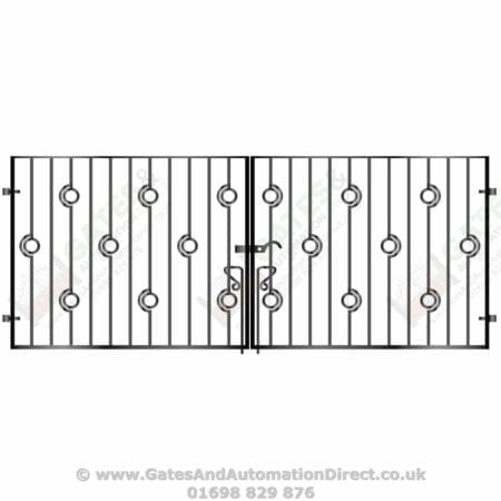 Short Metal Driveway Gates 009