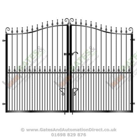 Tall Metal Driveway Gate 008
