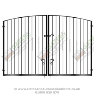 Metal wrought iron gates archives page 11 of 15 for Aluminum driveway gates prices
