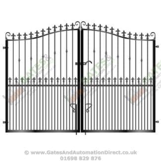 Tall Metal Driveway Gates