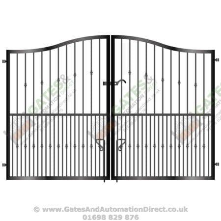 Tall Metal Driveway Gate 023