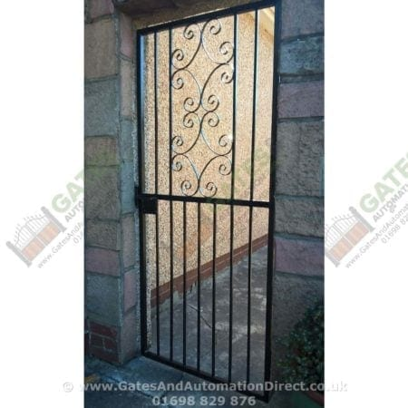 Tall Metal Side Gate 002