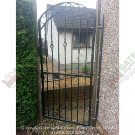 Tall Metal Side Gate 003