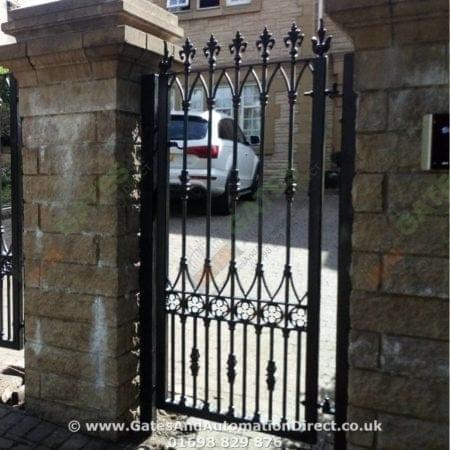 Tall Metal Side Gate 004