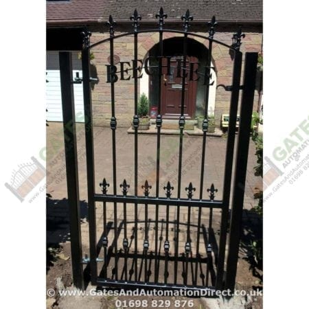 Tall Metal Side Gate 006 - Gates & Automation Direct