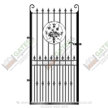 Tall Metal Side Gate 014