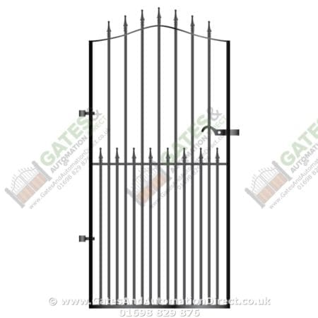 Tall Metal Side Gate 026