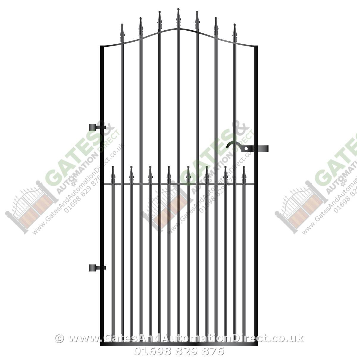 Tall Metal Side Gate 026 Gates Amp Automation Direct