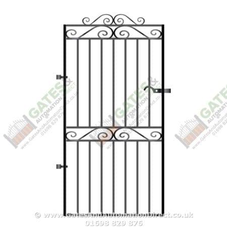 Tall Metal Side Gate 029