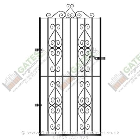 Tall Metal Side Gate 031