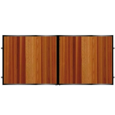 Short Timber Driveway Gate 001