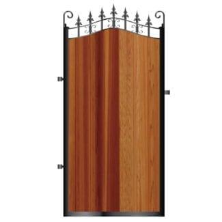 Metal Framed Timber Side Gates