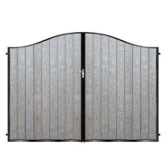 Metal Framed Composite Gates
